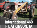 International 460 tractor for parts