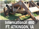 International 460 tractor with loader for parts