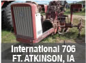 International 705 tractor for parts