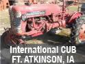 International Cub tractor parts