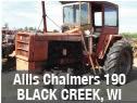 Allis Chalmers 190 tractor parts