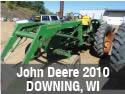 John Deere 2010 tractor used parts