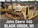 Used parts for John Deere 440 crawler