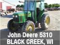 Used John Deere 5310 tractor parts