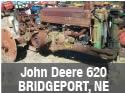 Used John Deere 620 tractor parts