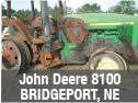 Used John Deere 8100 tractor parts