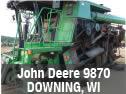 Used John Deere 9870 combine parts