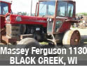 Used Massey Ferguson 1130 tractor parts