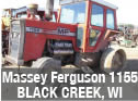 Used Massey Ferguson 1155 tractor parts