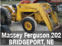 Used Massey Ferguson 202 tractor parts with loader