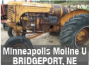 Used Minn Moline U tractor parts for sale in Bridgeport, Nebraska