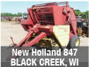Used New Holland 847 round baler parts for sale in Black Creek, Wisconsin