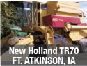 Used New Holland TR70 combine parts for sale in Fort Atkinson, Iowa