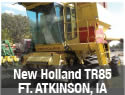 Used New Holland TR85 combine parts for sale in Fort Atkinson, Iowa