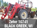 Used Zetor 10741 tractor for sale in Black Creek, Wisconsin