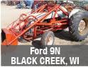 Used Ford 9N tractor parts