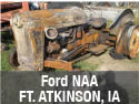 Ford NAA antique tractor parts