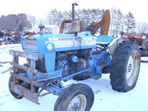 Ford 4000 Tractor Fenders : Ford tractor part numbers
