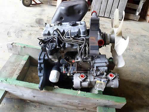 Iseki 1 4 Liters Engine Used Tractor Engine All States