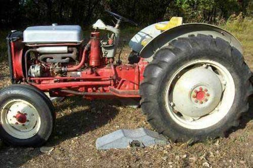 Ford 600 Tractor Farm : Ford farm tractor parts