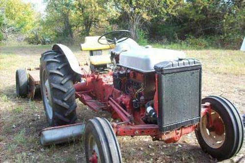 salvaged ford 600 tractor for used parts eq 14599 all states used ford 600 tractor parts rear photo eq 14599