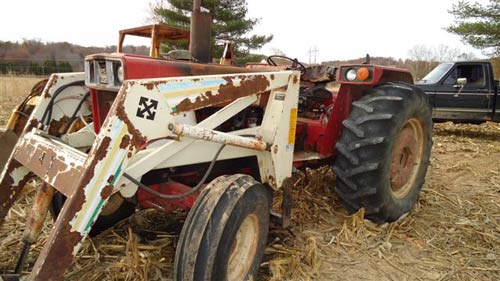 International 884 tractor salvaged for used parts. This unit is available at All States Ag Parts in Downing, WI. Call 877-530-1010 parts. Unit ID#: EQ-14730. The photo depicts the equipment in the condition it arrived at our salvage yard. Parts shown may or may not still be available. http://www.TractorPartsASAP.com