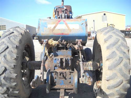 Used Ford 8000 tractor parts. Rear photo EQ-15528