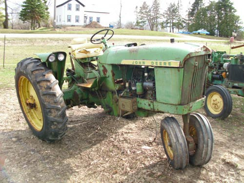 Salvaged John Deere 2010 tractor for used parts EQ15529 – John Deere 2010 Tractor Wiring