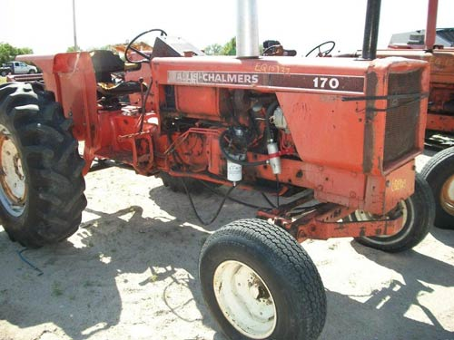 Allis Chalmers 170 Tractor : Allis chalmers tractor pictures to pin on pinterest