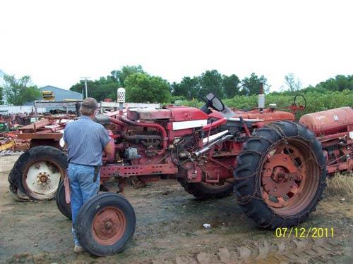 international harvester 504 tractor parts  international
