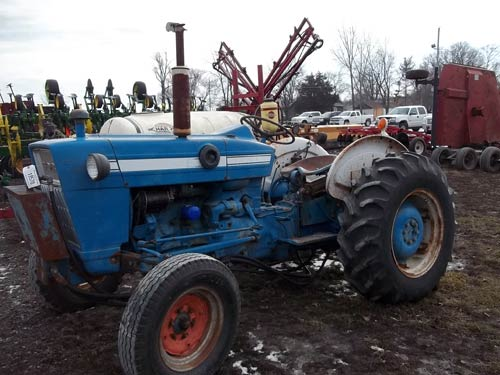 Ford Backhoe Salvage Parts : Used ford tractor parts in iowa