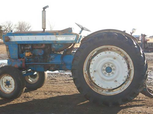 Ford 5000 Tractor Decals : Ford tractor salvage parts