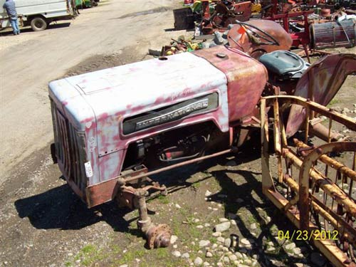 International B414 Parts : Farmall steering used tractor parts autos we