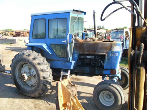 Ford 9600 Tractor : Ford tractor parts