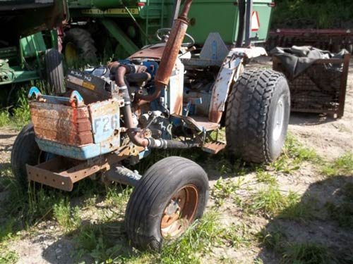 New Holland Ford Tractor 1920 : Used ford tractor parts