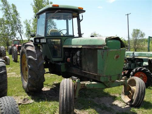 Salvaged John Deere 4230 tractor for used parts EQ18545 – John Deere 4230 Tractor Wiring