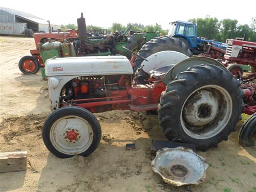 salvaged ford 8n tractor for used parts eq 18846 all. Cars Review. Best American Auto & Cars Review