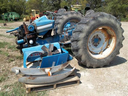 Ford 4000 Tractor Parts : Used parts for ford tractor