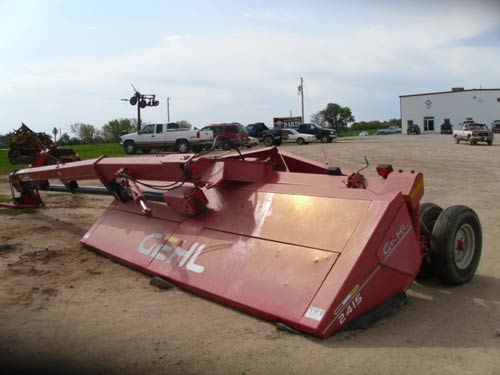 Used Gehl 2415 hay equipment parts. Front photo EQ-19265