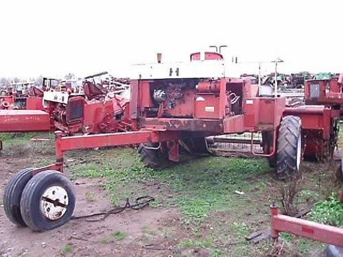 Used International 275 hay equipment parts. Rear photo EQ-19416