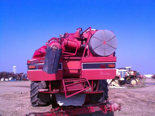 EQ 19640 D salvaged 1988 case ih 1660 combine for used parts eq 19640 all case ih 1660 combine wiring diagram at bayanpartner.co