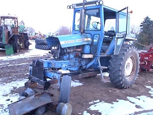 Ford Backhoe Salvage Parts : Ford tractor salvage parts