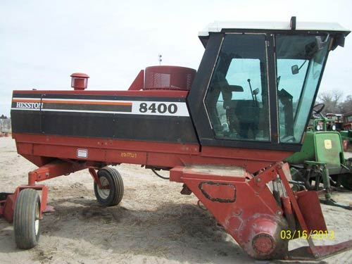Used Hesston 8400 hay equipment parts - side photo EQ-19929