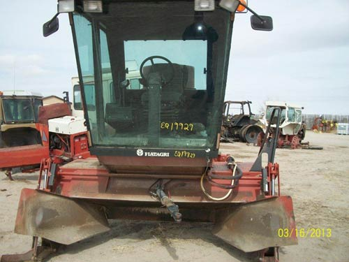 Used Hesston 8400 hay equipment parts. Front photo EQ-19929