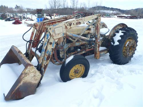Ford 1811 tractor salvaged for used parts. This unit is available at All States Ag Parts in Downing, WI. Call 877-530-1010 parts. Unit ID#: EQ-19955. The photo depicts the equipment in the condition it arrived at our salvage yard. Parts shown may or may not still be available. http://www.TractorPartsASAP.com