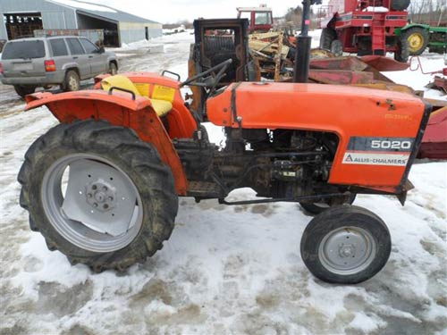 Used Allis Chalmers 5020 Tractor Parts Eq 20086 All