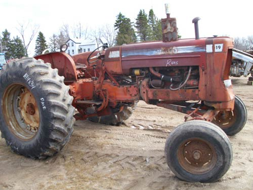 Used Allis Chalmers D19 Tractor Parts Eq 20188 All