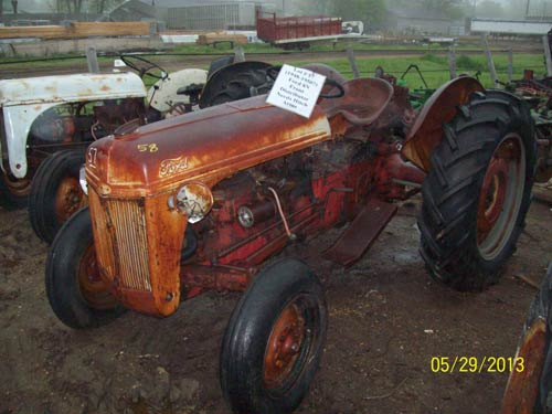 Broken Tractor Ford : Used parts for n ford tractor