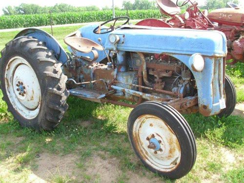 Ford Backhoe Salvage Parts : Used parts for n ford tractor