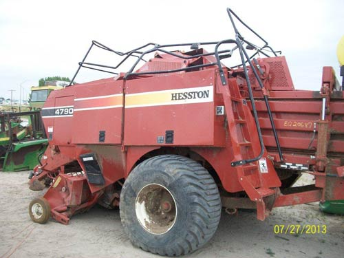 Used Hesston 4790 hay equipment parts - side photo EQ-20687